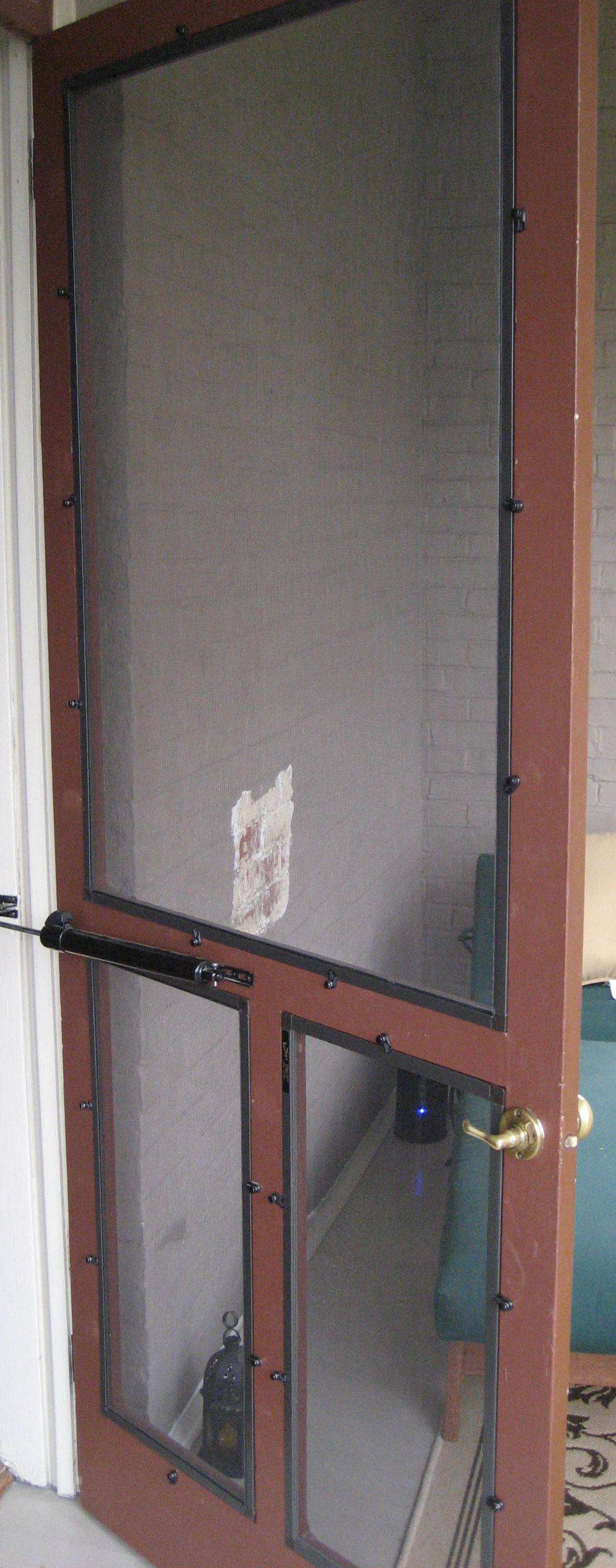 After ... - Restoring An Old Screen Door 1868home's Blog